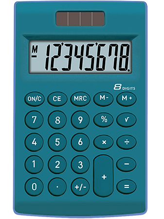 Pocket calculator TOOR TR-252B